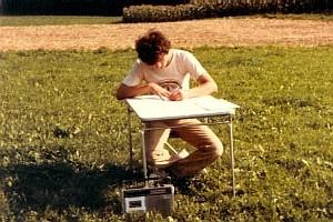 André Baechler, 16 ans à Planafaye, 1981
