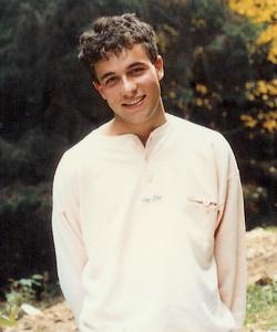 André Baechler à 19 ans