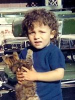 André Baechler, 3 ans, 1968