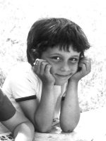 André Baechler, école enfantine à Bienne, 1971