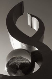 Sculpture au Lac Noir (version monochrome)